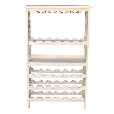 Kellems 24 Bottle Floor Wine Rack