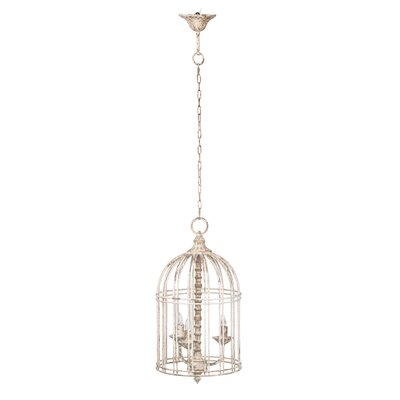 Warburton Donalt Caged 3-Light Mini Chandelier