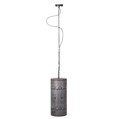 Rayne Iron Cylinder Ceiling 1-Light Mini Pendant