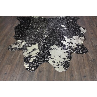 One-of-a-Kind Paquet Hand-Woven Cowhide Gold Indoor Area Rug