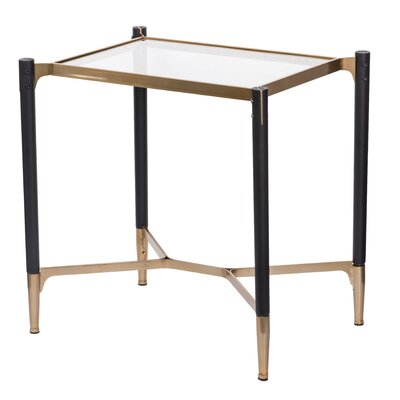 Paes Park View Rectangle Occational End Table