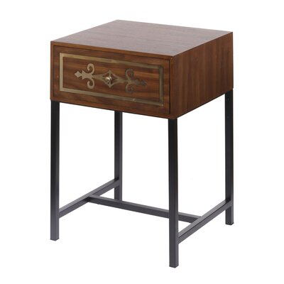 Mcgough Raj Chest End Table with Storage