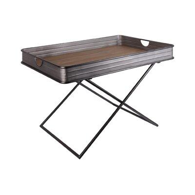 Mcdevitt Metal Rectangular Tray Table