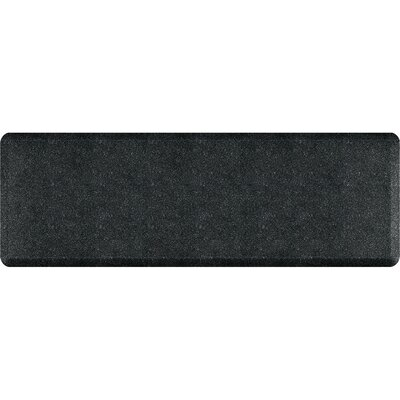 Spengler Original Smooth Kitchen Mat Mat Size: Rectangle 2 x 6, Color: Granite Onyx