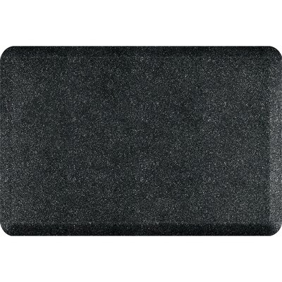 Spengler Original Smooth Kitchen Mat Mat Size: Rectangle 2 x 3, Color: Granite Onyx