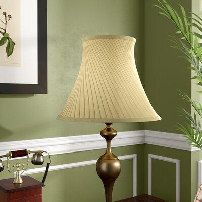 16 Linen Bell Lamp Shade Color: Eggshell