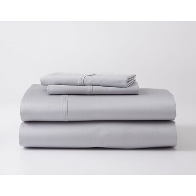 Headen Luxury Performance Sheet Set Color: Gray, Size: Twin