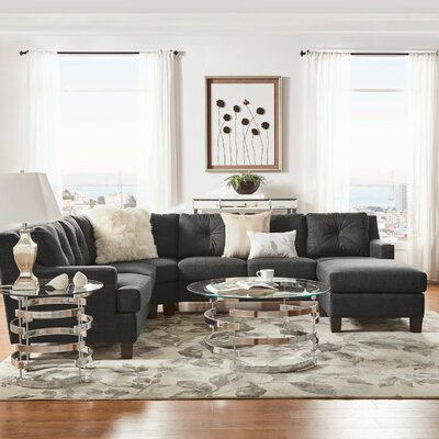 Doane 6 Seat Reversible Sectional with Ottoman