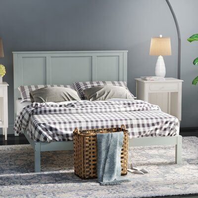 Homewood Country Style Platform Bed Size: Queen