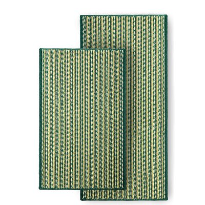 Bhatade 2 Piece Utility Mat Set Color: Green
