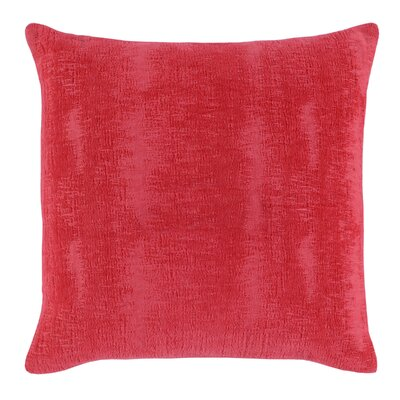 Miss Cotton Throw Pillow Color: Red