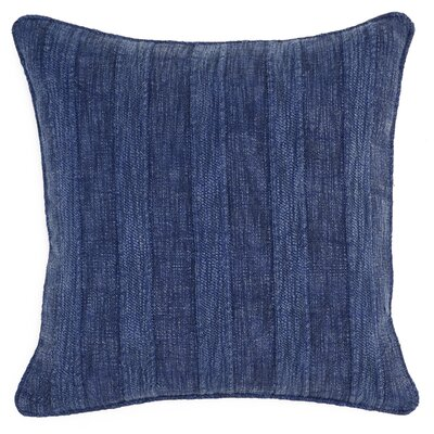 Vedika Wickline Throw Pillow Color: Indigo Blue