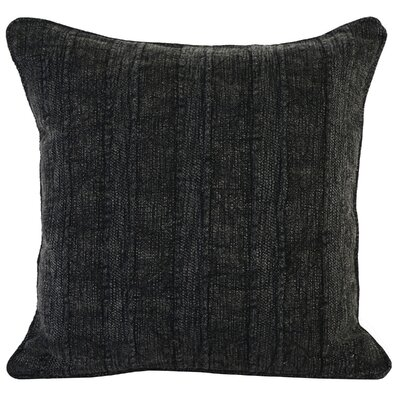 Vedika Wickline Throw Pillow Color: Black