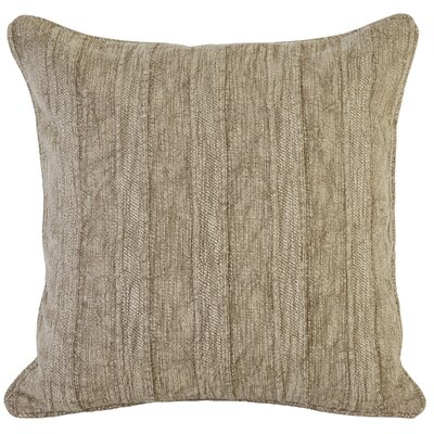 Vedika Wickline Throw Pillow Color: Brown