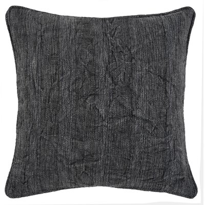 Vedika Wickline Throw Pillow Color: Charcoal