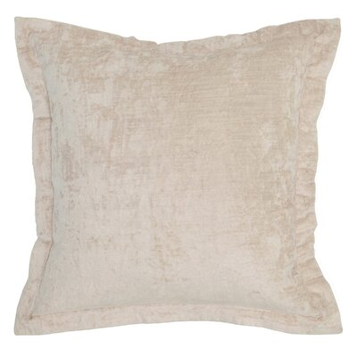 Hemming Throw Pillow Color: Beige