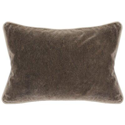 Wickline Cotton Throw Pillow Color: Brown