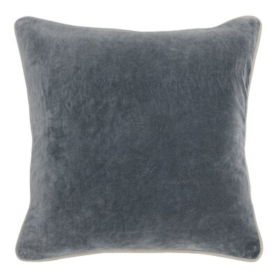 Wickline Cotton Throw Pillow Color: Dark Gray
