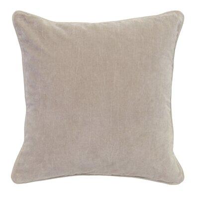 Wickline Cotton Throw Pillow Color: Natural
