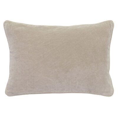 Wickline Cotton Throw Pillow Color: Natural