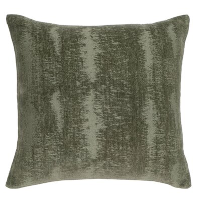 Miss Cotton Throw Pillow Color: Green