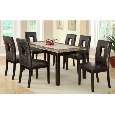 Mcginn 7 Piece Dining Table Set