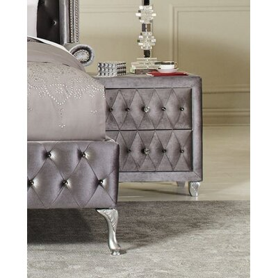 Lavallee 2 Drawer Nightstand