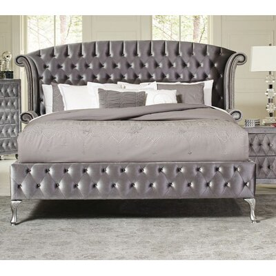 Lavallee Upholstered Platform Bed Size: King