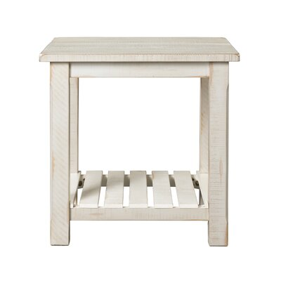 Osterhout End Table Color: Antique White