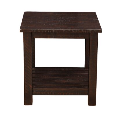 Osterhout End Table Color: Espresso
