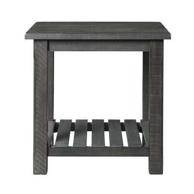 Osterhout End Table Color: Gray