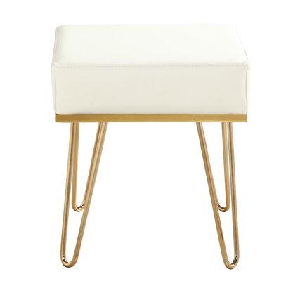 Ibanez Ottoman Upholstery: Cream