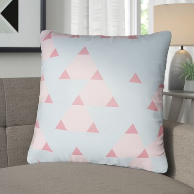 Walpole 100% Cotton Throw Pillow Color: Bright Pink