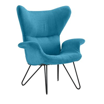 Delmont Armchair Upholstery: Blue