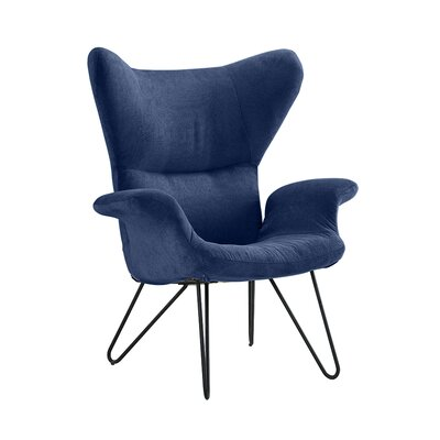 Delmont Armchair Upholstery: Navy