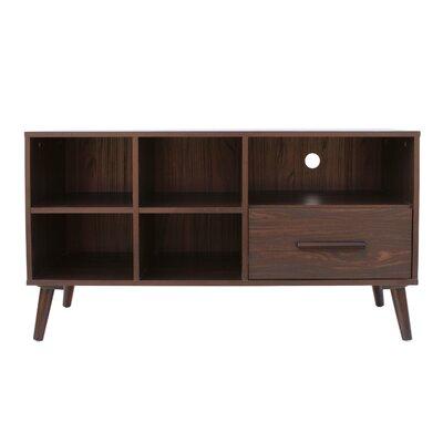 Goguen Mid Century Modern 44 TV Stand Color: Dark Walnut
