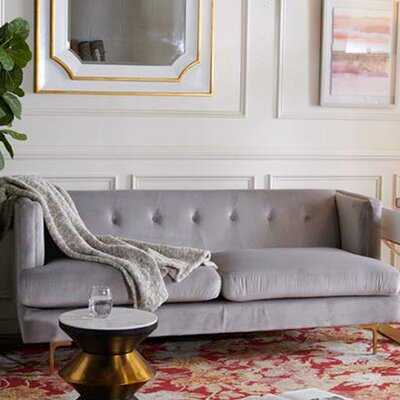 Dowdle Diamond Tufted Sofa