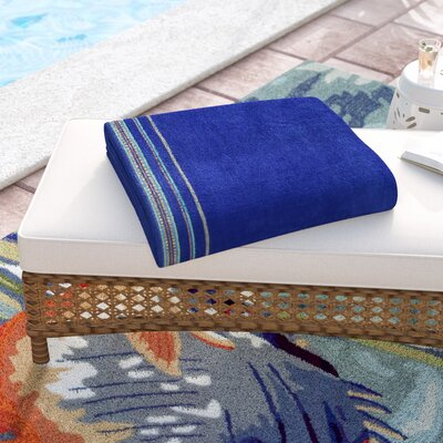 Jumbo Beach Towel Color: Cobalt Blue