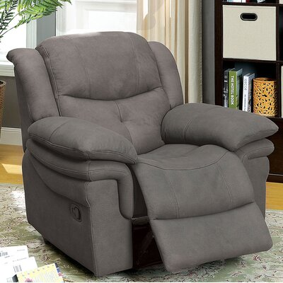 Browning Manual Recliner Color: Graphite
