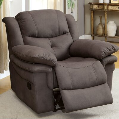 Browning Manual Recliner Color: Ash Brown