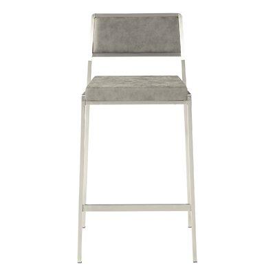 Bitter 26 Bar Stool Upholstery: Retro Gray