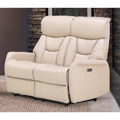 Grip Dual Reclining Loveseat Upholstery: Light Cobblestone