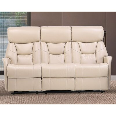 Grip Dual Reclining Sofa Upholstery: Light Cobblestone