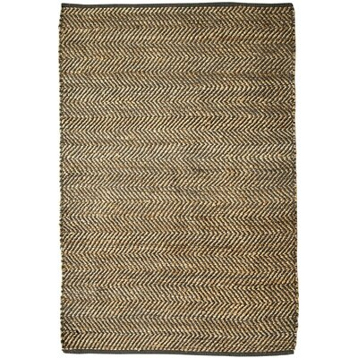Holohlavy Hand-Woven Charcoal Area Rug