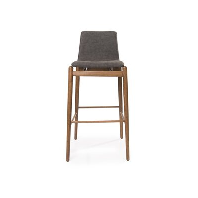 Park Ridge 39 Bar Stool Color: Brown