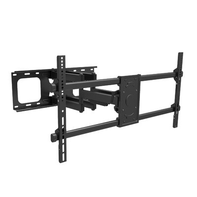 Full Motion Flat Panel Articulating/Extending Arm Wall Mount for 43 - 90 LED and Plasma