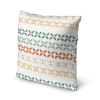 Partlow Floral Throw Pillow Size: 16 x 16