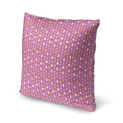 Jacobus Circles and Stars Throw Pillow Size: 24 x 24