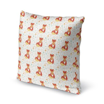 Folmar Fox Throw Pillow Size: 18 x 18