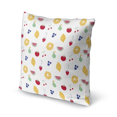 Trommler Fruity Throw Pillow Size: 24 x 24